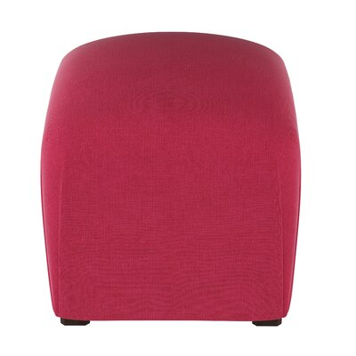 Damen Cube Ottoman Color: Fuschia