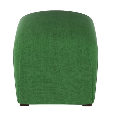 Damen Linen Ottoman Color: Kelly Green