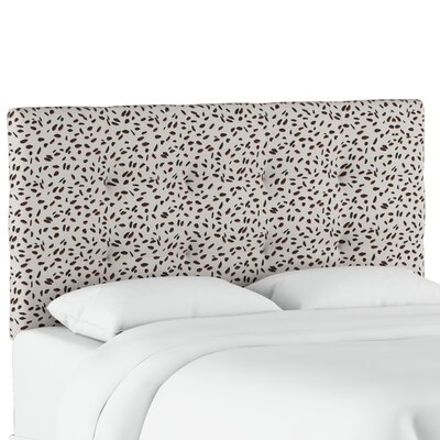 Grays Ferry Tufted Neo Leo Upholstered Panel Headboard Size: Twin