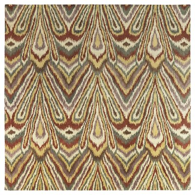 Lockport Beige Area Rug Rug Size: Square 79