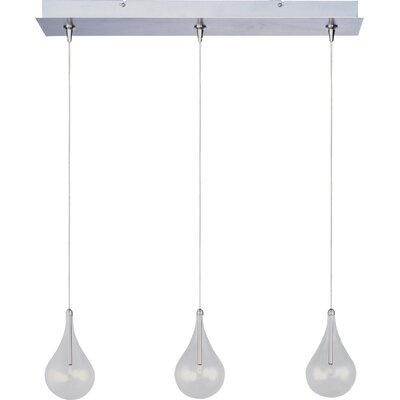 Abbotstown 3-Light RapidJack Pendant and Canopy