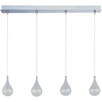 Abbotstown 4-Light RapidJack Pendant and Canopy