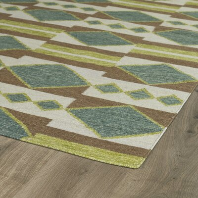 Marble Falls Turquoise Geometric Area Rug Rug Size: Rectangle 2 x 3