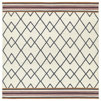 Marble Falls Ivory Area Rug Rug Size: Square 8