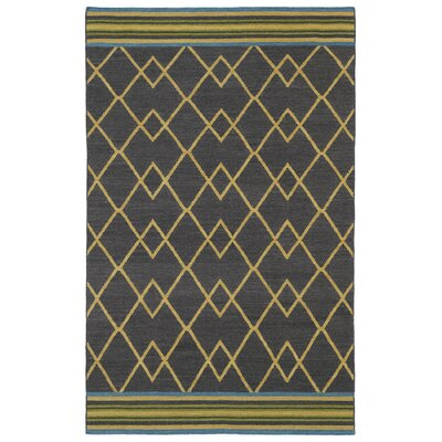 Marble Falls Charcoal Geometric Area Rug Rug Size: Rectangle 5 x 8