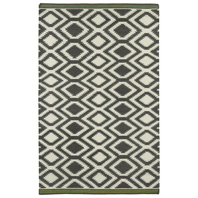 Marble Falls Grey Geometric Area Rug Rug Size: Rectangle 2 x 3