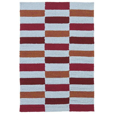 Staple Hill Cranberry Indoor/Outdoor Rug Rug Size: Rectangle 2 x 3