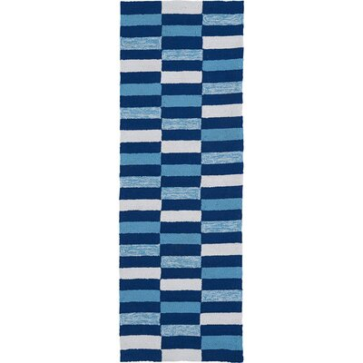 Staple Hill Blue Indoor/Outdoor Area Rug Rug Size: Runner 2 x 6
