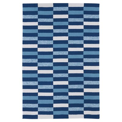 Staple Hill Blue Indoor/Outdoor Area Rug Rug Size: Rectangle 86 x 116