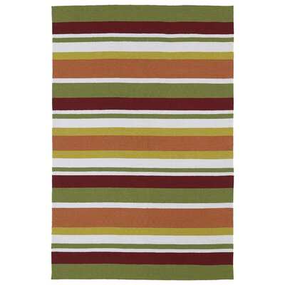 Staple Hill Tangerine Indoor/Outdoor Area Rug I Rug Size: 3 x 5