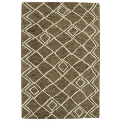 Zack Brown Geometric Rug Rug Size: 8 x 11