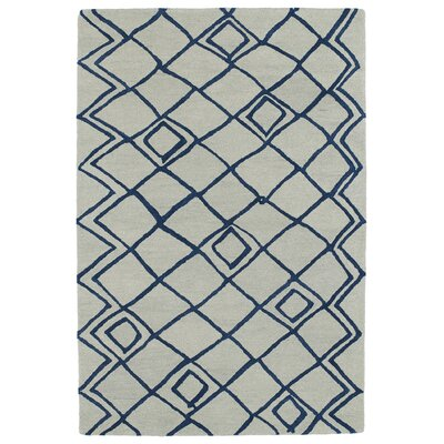Zack Ivory Geometric Area Rug Rug Size: Rectangle 4 x 6