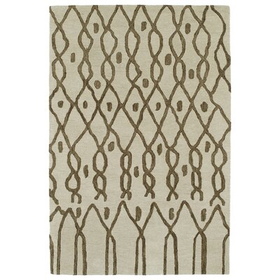 Zack Ivory Geometric Area Rug Rug Size: Rectangle 96 x 136