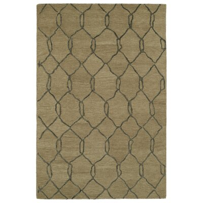 Zack Cappuccino Geometric Rug Rug Size: Rectangle 96 x 136