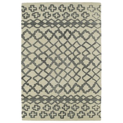 Zack Gray Geometric Area Rug Rug Size: Rectangle 96 x 136