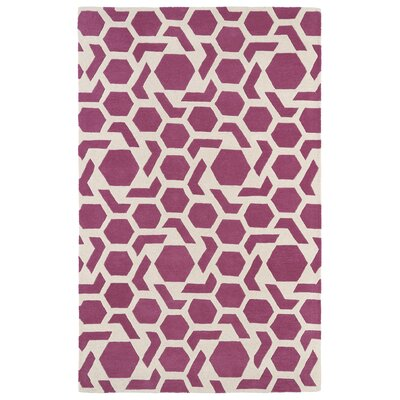 Fairlee Pink Area Rug Rug Size: Rectangle 8 x 11