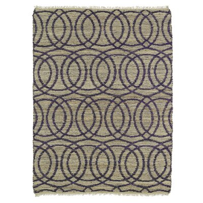 Millbourne Grey/Purple Area Rug Rug Size: 2 x 3