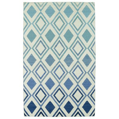Hartranft Flat Woven Blue Area Rug Rug Size: Rectangle 2' x 3'