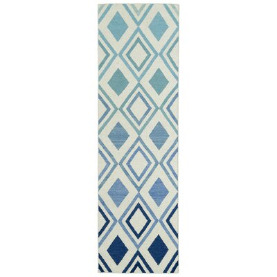 Hartranft Flat Woven Blue Area Rug Rug Size: 5 x 8
