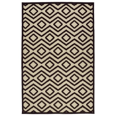 Shirehampton Brown Indoor/Outdoor Area Rug Rug Size: Rectangle 2'1
