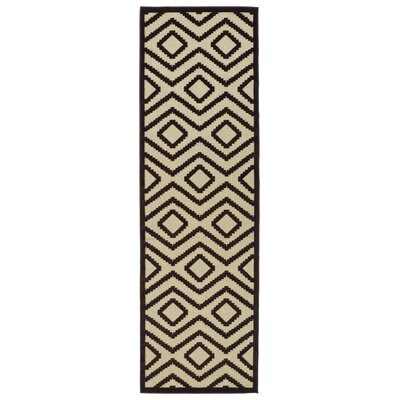 Shirehampton Brown Indoor/Outdoor Area Rug Rug Size: Rectangle 21 x 4