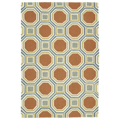 Doylestown Pumpkin Indoor/Outdoor Area Rug Rug Size: 5 x 76