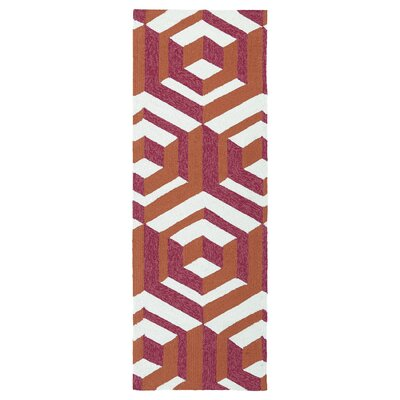 Doylestown Multi-colored Indoor/Outdoor Area Rug Rug Size: Runner 2 x 6
