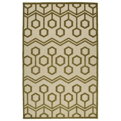 Shirehampton Olive Indoor/Outdoor Area Rug Rug Size: Rectangle 21 x 4
