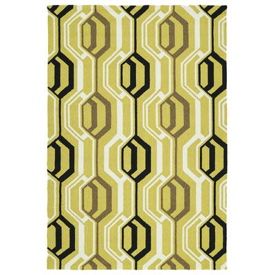 Doylestown Gold Indoor/Outdoor Area Rug Rug Size: Rectangle 5 x 76