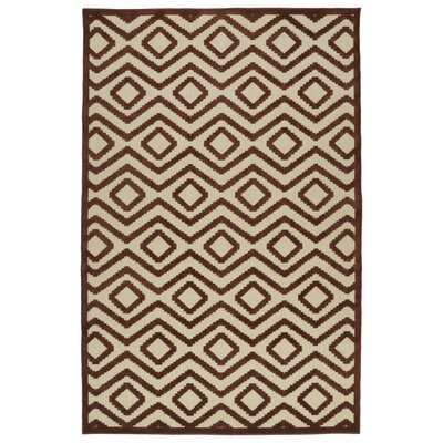 Shirehampton Brown Indoor/Outdoor Area Rug Rug Size: Rectangle 710 x 108