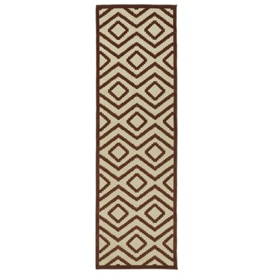 Shirehampton Brown Indoor/Outdoor Area Rug Rug Size: Runner 26 x 71