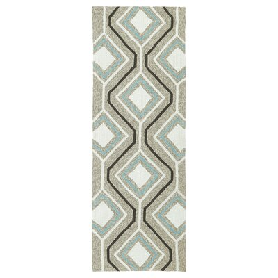 Doylestown Light Brown Indoor/Outdoor Area Rug Rug Size: Runner 2 x 6
