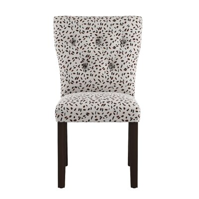 Marksbury Tufted Hourglass Side Chair