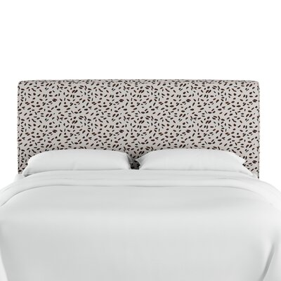 Marksbury Upholstered Panel Headboard Size: King