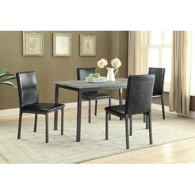 Hagerty 5 Piece Dining Set