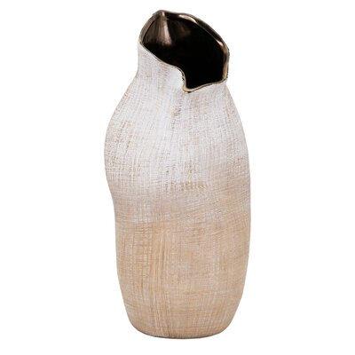Brown Ceramic Table Vase