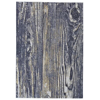 Haile Gray Area Rug Rug Size: Rectangle 22 x 4