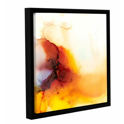 'Dragon Rain' by Donna Weathers Framed Graphic? Art Size: 10