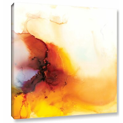 'Dragon Rain' by Donna Weathers Graphic? Art on Wrapped Canvas