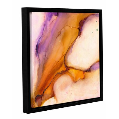'Modern Bucranium' by Donna Weathers Framed Painting Print