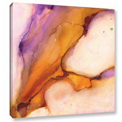 'Modern Bucranium' by Donna Weathers Painting Print on Wrapped Canvas