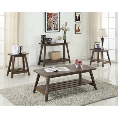 Halley 4 Piece Coffee Table Set