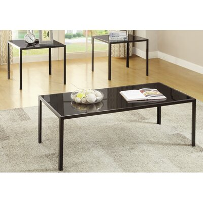 Halethorpe 3 Piece Coffee Table Set