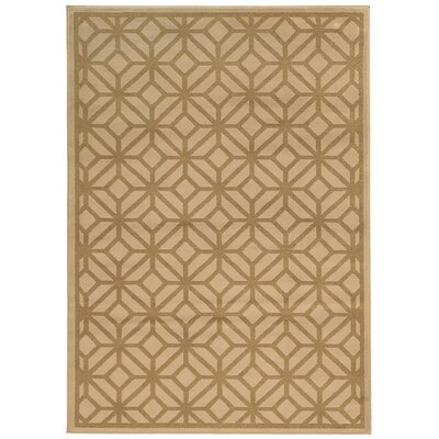 Halloran Beige/Tan Area Rug Rug Size: Rectangle 710 x 10
