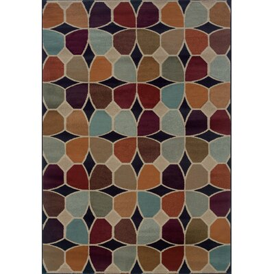 Halloway Gray Area Rug Rug Size: 53 x 76