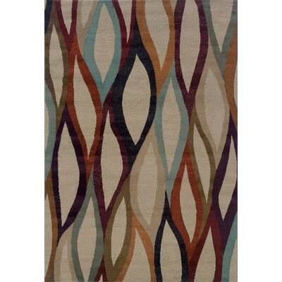 Halloway Gray Area Rug Rug Size: 3'10