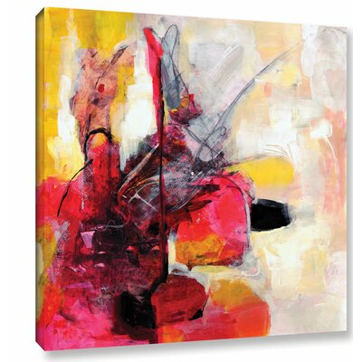 'Off Balance' by Sia Aryai Painting Print on Wrapped Canvas Size: 10