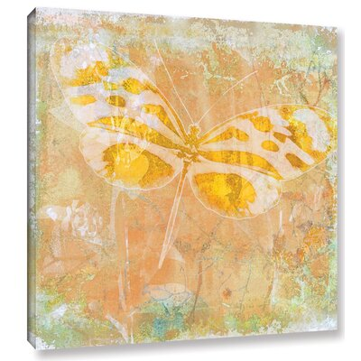 'Papillon X' by Sia Aryai Painting Print on Wrapped Canvas Size: 10