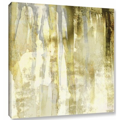 'Flairer IV' by Sia Aryai Painting Print on Wrapped Canvas