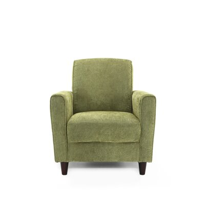 Harman Armchair Upholstery: Green